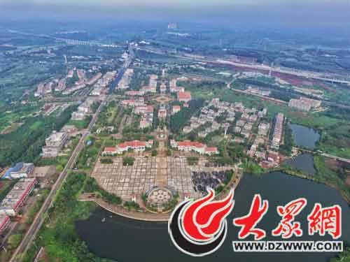 海南范例 新闻报道  航拍福山互联网农业小镇