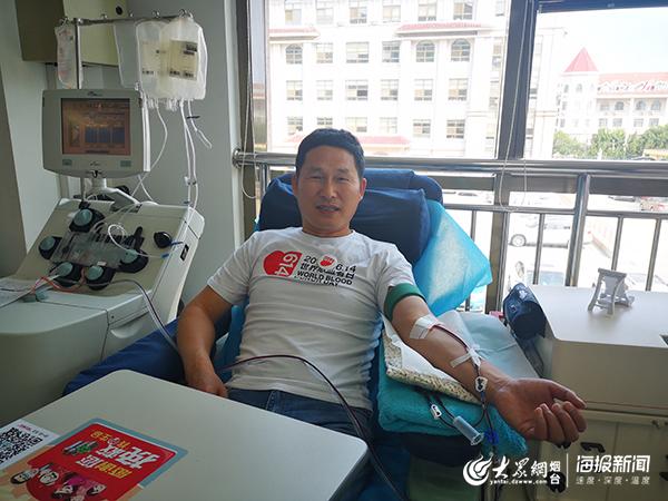 撸一撸xiaos_烟台702名市民撸袖献血庆祝世界献血者日
