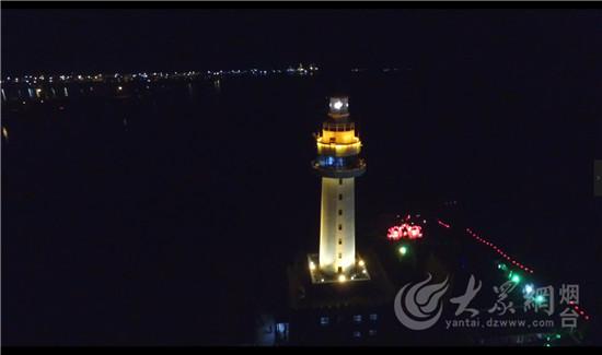 威海悦海公园灯塔花灯