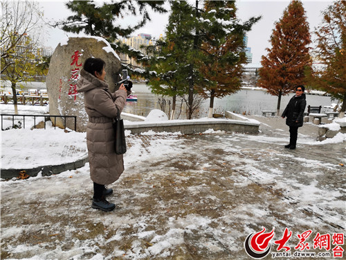 玩雪不需远行!烟台南山公园免费提供3000平米玩雪区