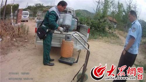 动以来,海阳市公安局东村派出所强化职能作用,从危化品管控入手,图片