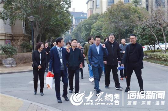 则来到了上海豪尔森在临沂北城的代表作——豪森名邸.图片
